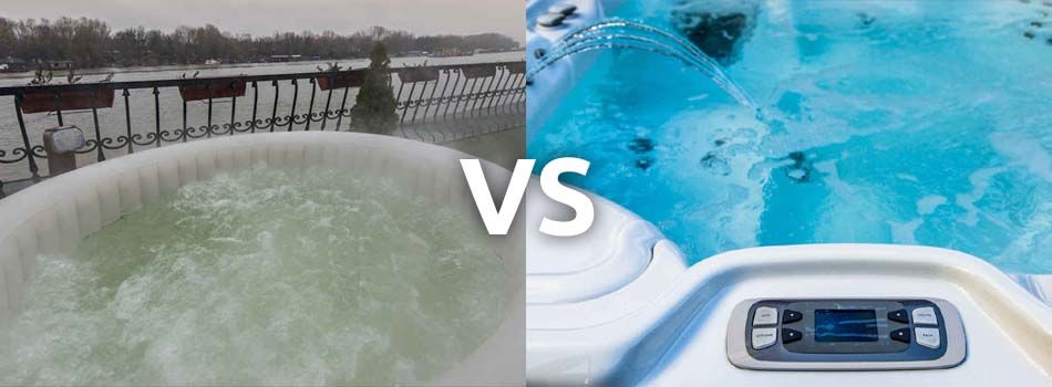 Difference Between Regular Spa and Inflatable Spa